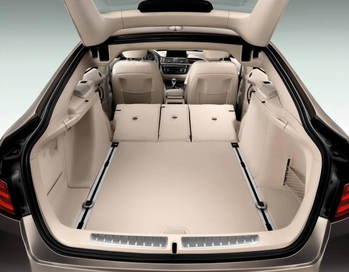 BMW 3시리즈 그란투리스모 xDrive 트렁크 (제공=BMW코리아)