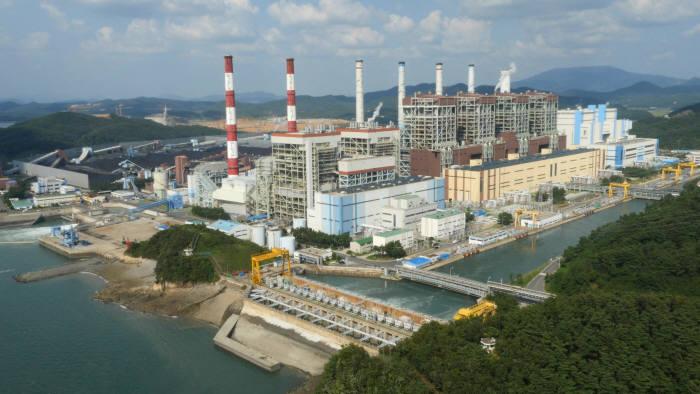 한국중부발전 보령화력발전소.