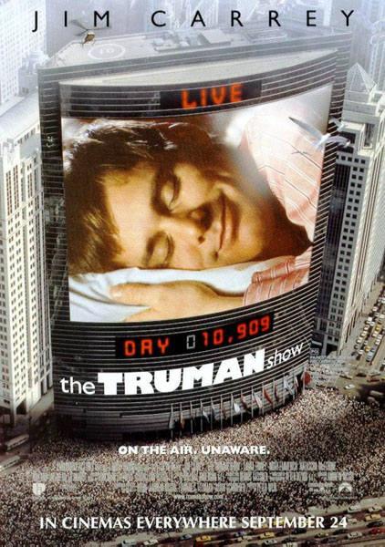 영화 `트루먼쇼` 포스터 이미지.