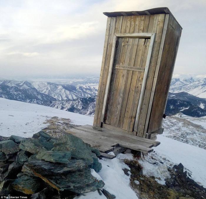 세계에서 가장 춥고 높은 화장실은? ···영화 50도 시베리아