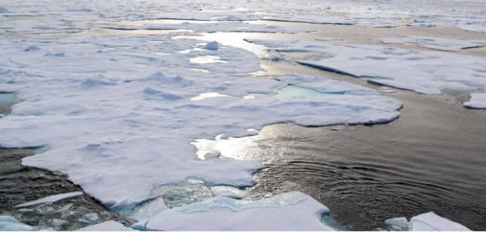북극의 온난화는 우리 생활에 많은 영향을 미치고 있다(출처:NOAA)