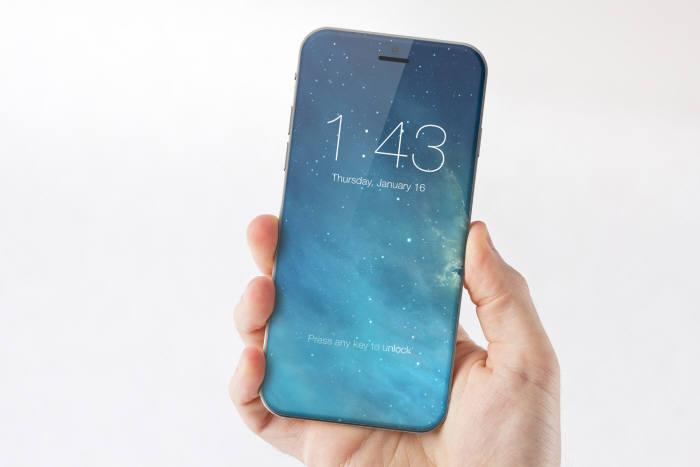 해외 한 산업디자이너가 만든 아이폰 컨셉 이미지(출처: Marek Weidlich)