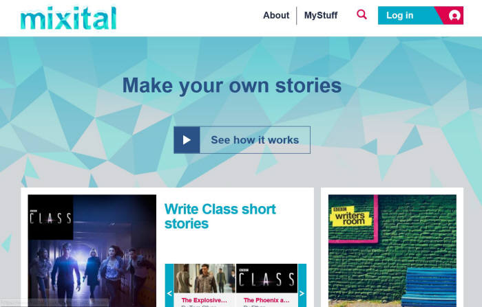 BBC SW교육 사이트 홈페이지 메인 페이지 캡쳐 화면