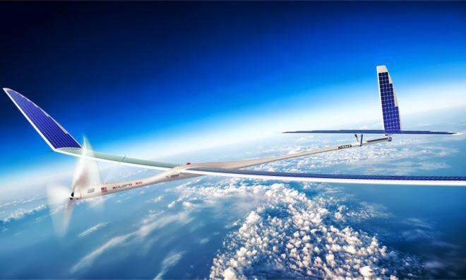 구글, 태양광 드론 인터넷 `타이탄` 프로젝트도 포기