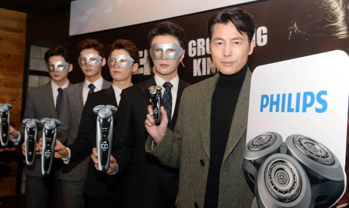 [동영상 뉴스]정우성, 필립스 맨즈 그루밍 킹 패키지와 영화 `더 킹`