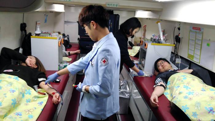 테크빌교육, 동절기 `사랑의 헌혈`로 따뜻한 나눔 실천