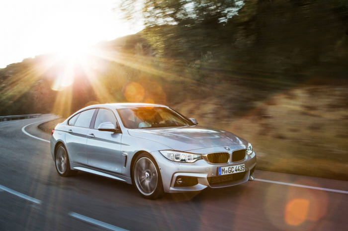 BMW 4시리즈 그란쿠페 주행모습 (제공=BMW코리아)