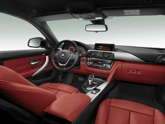 BMW 4시리즈 그란쿠페 실내 인테리어 (제공=BMW코리아)