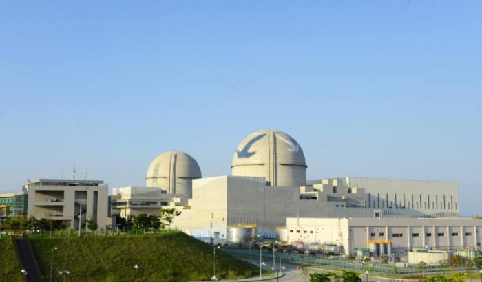 지난해 12월 상업가동을 시작한 신고리 원전 3호기.