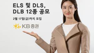 KB증권, 리자드 ELS 등 파생결합상품 12종 공모