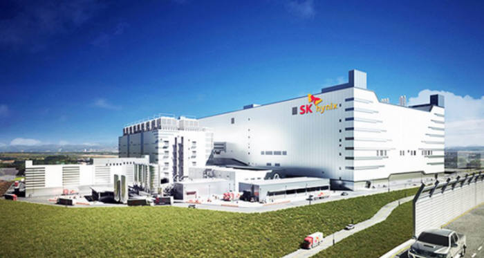 SK하이닉스 경기도 이천 D램 공장
