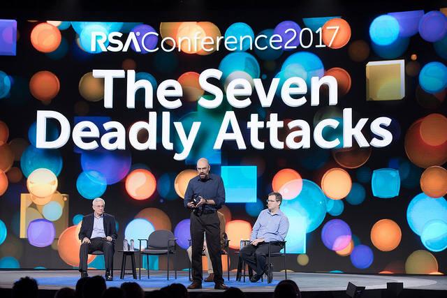 SANS 연구소는 15일 IoT 기기를 표적한 랜섬웨어 공격, 산업제어시스템(ICS) 침해사고 등 향후 발생할 7대 사이버 위협을 발표했다. (자료:RSAC)