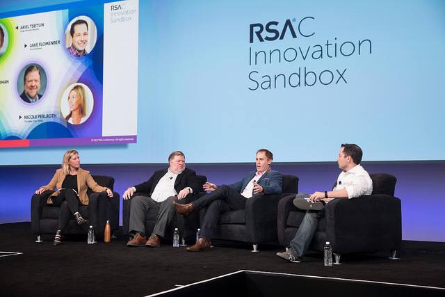 가장 혁신적인 사이버 보안 기업을 뽑는 `이노베이션 샌드박스`도 열렸다. 결선에 진출한 10개 스타트업이 피치와 데모를 한다. (자료:RSAC)