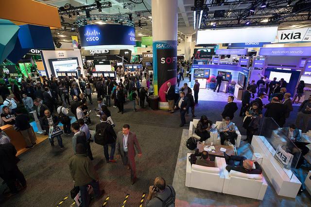 시스코, IBM, 마이크로소프트 등 글로벌 IT기업이 보안 시장 확대에 한창이다.(자료:RSAC)