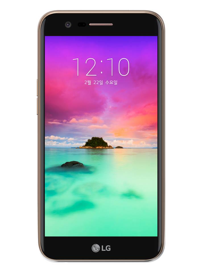 LG전자가 23일 국내 출시하는 X400 스마트폰.