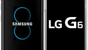 G6 3월 10일·갤럭시S8 4월 21일 국내 출시