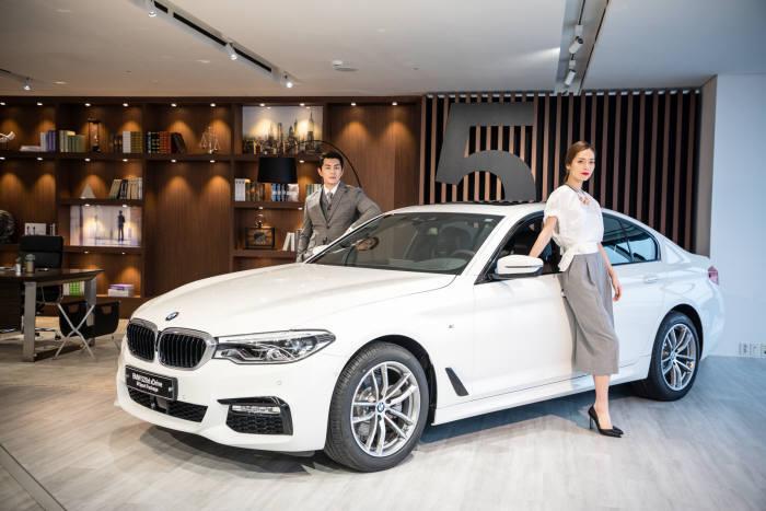 BMW 프리미엄 비즈니스 세단 7세대 `뉴 5시리즈` (제공=BMW코리아)