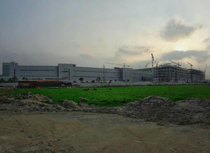 베트남 하노이 북부 박닌 성에 위치한 삼성전자 베트남 공장 전경.