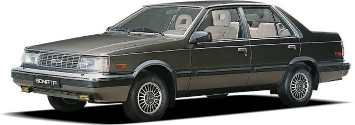 1세대(1985년) 쏘나타 모델. 사진=현대자동차 제공