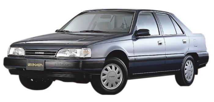 2세대(1988년) 쏘나타 모델. 사진=현대자동차 제공