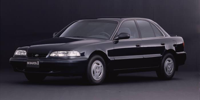 3세대(1993년) 쏘나타2 모델. 사진=현대자동차 제공