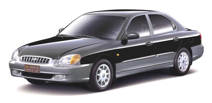 4세대(1998년) EF쏘나타 모델. 사진=현대자동차 제공