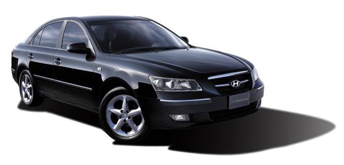 5세대(2004년) NF쏘나타 모델. 사진=현대자동차 제공
