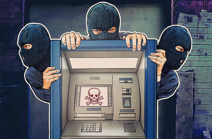 ATM을 노리는 사이버 공격이 늘었다.(자료:카스퍼스키랩)
