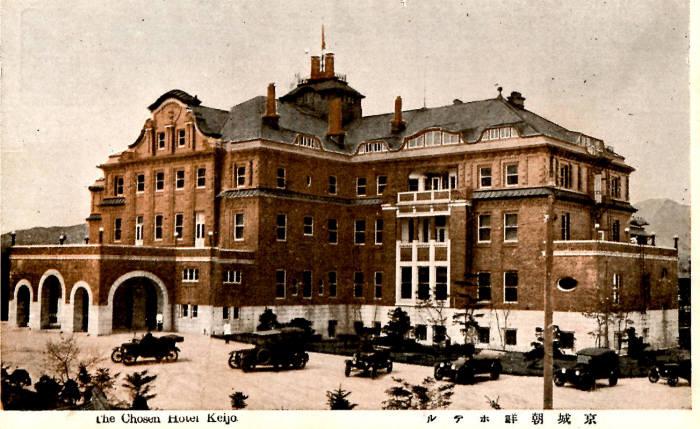 1914년 조선호텔 개관 당시 모습이 담긴 엽서. 사진=웨스틴조선호텔 제공