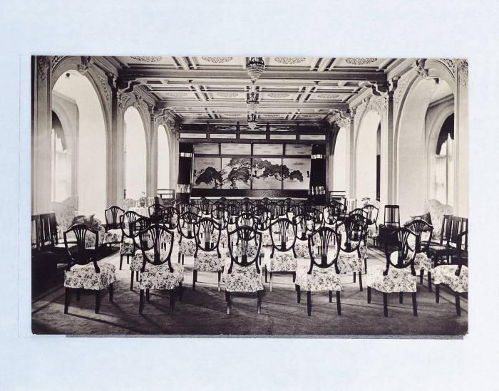 1914년 조선호텔 콘서트홀 모습. 사진=웨스틴조선호텔 제공