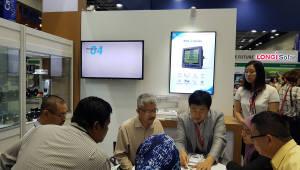 한전, 협력사와 말레이시아 전력 전시회 참가
