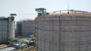 가스공사, 세계 최대 규모 삼척 LNG 기지 시운전 돌입
