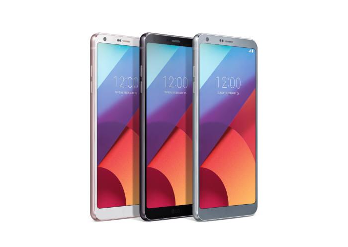 LG전자가 지난 10일 국내 출시한 G6 스마트폰.