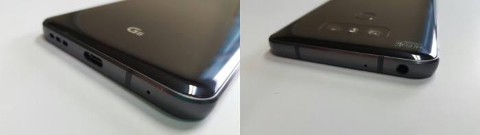 G6은 심플한 디자인에 파손을 최소화하도록 디자인됐다. 카메라와 홈버튼 역시 돌출되지 않아 그립감을 최대한 살렸다.