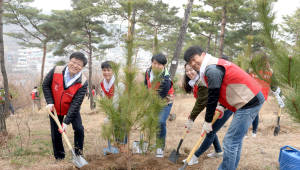롯데닷컴, 남산 숲 가꾸기