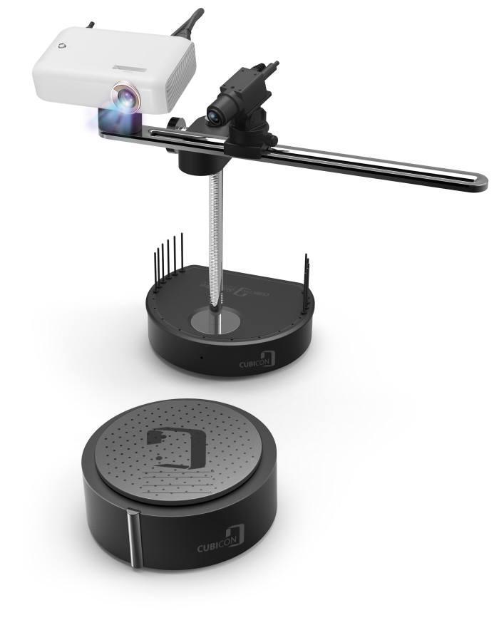 '큐비콘 스캔 프로' 3D스캐너