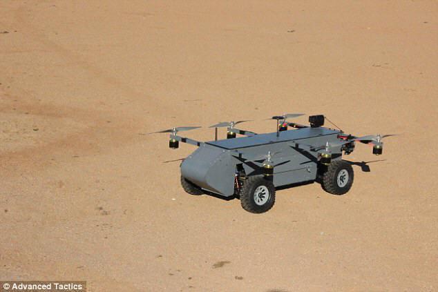 헬리콥터처럼 날고, SUV처럼 달리는 드론 개발