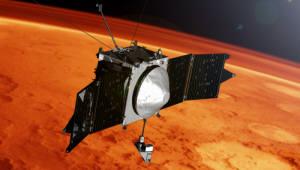 {htmlspecialchars(NASA, 화성 대기층서 금속 이온 발견)}