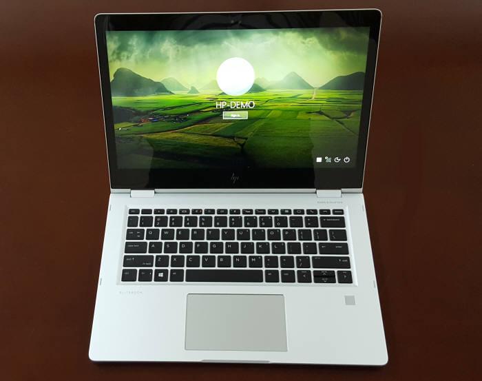HP는 HP 엘리트북 x360에 다양한 보안 솔루션을 담았다. 여러 기능을 통한 강력한 보안성이야말로 이 노트북의 가장 큰 장점이다. 사진=황재용기자