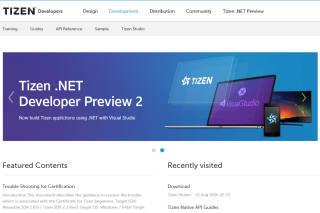 타이젠은 9월 발표하는 4.0 버전에서 마이크로소프트의 닷넷(.Net) 개발언어를 지원한다.