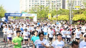 현대글로비스, 교통안전 결의 다지는 '안전공감 마라톤' 개최