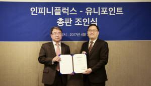 인피니플럭스, 쿠도커뮤니케이션·유니포인트와 국내 총판 계약
