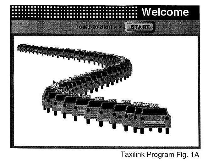 헤일로 테크놀로지의 차량 파견 특허(등록번호: 5,973,619) 시작 메뉴 화면 / 자료:미국 특허상표청(USPTO)