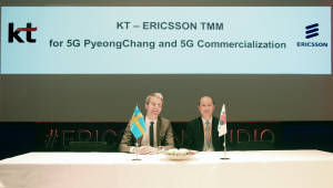 KT,에릭슨·노키아와 5G 장비·단말 상호연동 성공