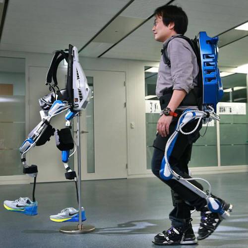 현대자동차가 개발한 보행보조용 웨어러블 로봇