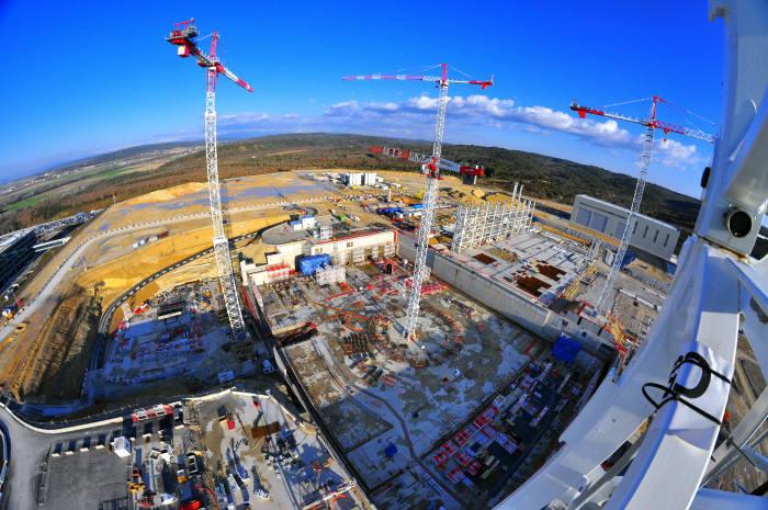 프랑스 카다라쉬 ITER 국제기구 토카막 빌딩 건설현장