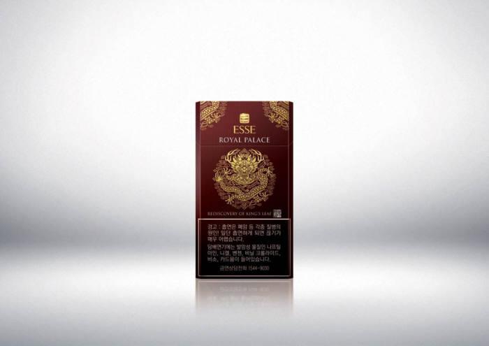 국내 최고가 담배 '에쎄 로열팰리스'. 사진=KT&G 제공