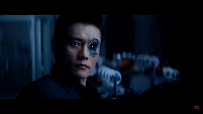 영화 '터미네이터 : 제니시스'에서 배우 이병헌은 나노금속으로 이뤄진 살인병기 'T1000'으로 분했다. (출처: Paramount Pictures)