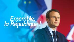 에마뉘엘 마크롱, 프랑스 최연소 대통령 공식 취임