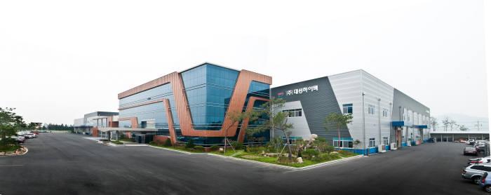 대성하이텍 회사 전경
